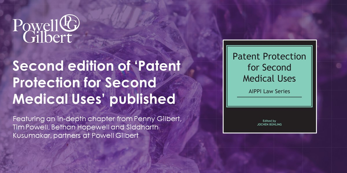 Patent Protection for Second Medical Uses